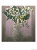 Lilies of the Valley Giclee Print by Hobson Pittman