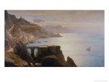 Amalfi Coast Giclee Print by William Stanley Haseltine