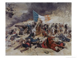 Seige of Paris Giclee Print by Jean-Louis Ernest Meissonier