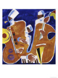Jazz Collage I Giclee Print by Gil Mayers