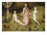 Detail of Garden of Earthly Delights, no.1, c.1505 Giclee Print by Hieronymus Bosch
