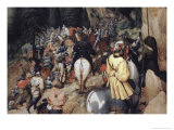 Conversion of Saint Paul, c.1567 Giclee Print by Pieter Bruegel the Elder