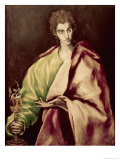 St. John the Evangelist Giclee Print by  El Greco