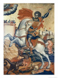 St. George Slaying the Dragon Giclee Print by Emmanuel Tzanes