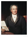 Portrait of Goethe Giclee Print by Josef Karl Stieler