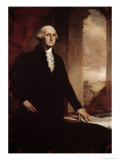 George Washington Gicl&#233;e-Druck von John Vanderlyn