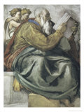 The Prophet Zachariah Giclee Print by  Michelangelo Buonarroti