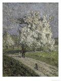 Le Grand Poirier En Fleurs Giclee Print by Emilio Boggio