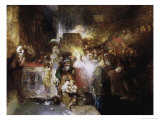 Pilate Washing His Hands Giclee Print by William Turner