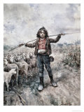 Return from Pasture Giclee Print by Rafael Senet