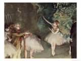 Repetition de Ballet Giclee Print by Edgar Degas