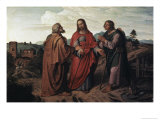 The Walk to Emmaus Giclee Print by Joseph Feuhrich
