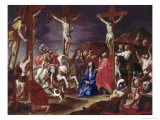 The Crucifixion Giclee Print by Hendrick Krock