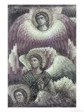 Archangel Seraphim Giclee Print by Pietro Cavallini