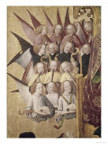 The Coronation of the Virgin : Choir of Angels Giclee Print