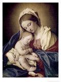 Madonna y el niño Lámina giclée por Giovanni Battista Salvi da Sassoferrato