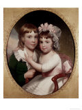 Brother and Sister Giclee Print by Thomas Sully