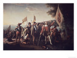 Landing of Columbus Gicl&#233;e-Druck von John Vanderlyn