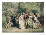 The Christening Giclee Print by Jean Leon Gerome Ferris