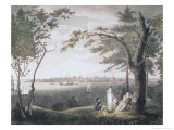 City of New York, c.1803 Giclee Print by Samuel Seymour