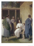 Let the Children Come Unto Me Giclee Print by Christopher Eckersberg