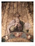Detail of La Disputa Impression giclée par  Raphael