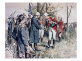 Burgoyne's Surrender Frederick Coffay Yohn Giclee Print by Frederick Coffay Yohn
