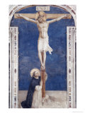 Crucifixcion with Saint Dominick, c.1438-1445 Giclee Print by  Fra Angelico