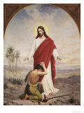 Christ the Comforter Giclee Print by Allen Lund