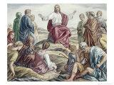 Sermon on the Mount Giclee Print by Julius Schnorr von Carolsfeld