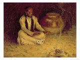 Fireside Giclee Print by Eanger Irving Couse