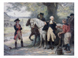 Washington at Half-way Brook Giclee Print by Jean Leon Gerome Ferris