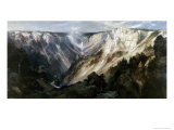 Grand Canyon at Yellowstone Giclee Print by Edward Moran