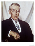 Woodrow Wilson Gicleetryck av Sir William Orpen