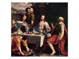 Disciples at Emmaus Giclee Print by Philippe De Champaigne
