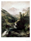 Mountain of the Holy Cross Giclee Print by Edward Moran