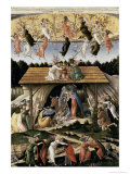 The Mystic Nativity Giclee Print by Sandro Botticelli