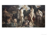 The Judgement of Paris Giclee Print by Anselm Feuerbach