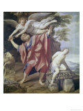 Abraham Sacrificing Isaac Premium Giclee Print by  Domenichino