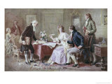The Marriage Contract Giclee Print by Jean Leon Gerome Ferris