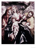 The Holy Family with Mary Magdalene Lámina giclée por  El Greco