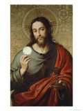 Christ the Host Premium Giclee Print by Vicente Juan Macip