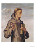 Saint Anthony Gicl&#233;e-Druck von A. Vivarini