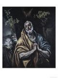 Penitent Peter Giclee Print by El Greco 