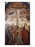 The Crucifixion Giclee Print by Ambrogio Borgognone