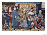 Charlemagne Crowned by Pope Leo III, Dec.25,800 Giclee Print