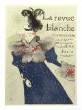 La Revue Blanche Giclee Print by Henri de Toulouse-Lautrec