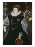 Queen Elizabeth of England Giclee Print by Frederico Zuccari Or Zuccaro
