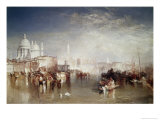 Canal Della Giudecca, Venice Giclee Print by William Turner