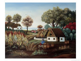 The Vineyard Giclee Print by Konstantin Rodko